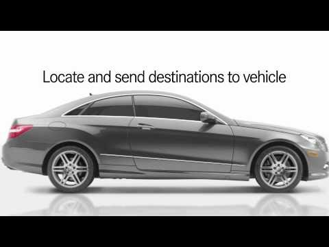 Mbrace send2benz mobile app send destination to for Mbrace mercedes benz