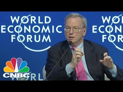 Google's Eric Schmidt: 'The Internet Will Disappear' | Tech Bet | CNBC