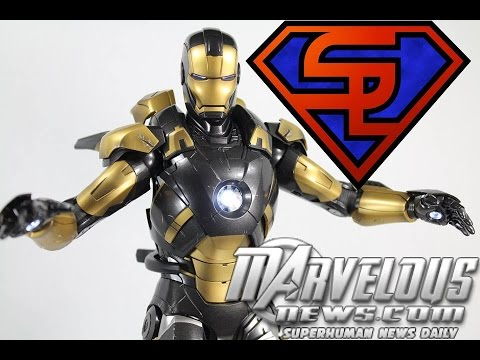 Iron Man 3 Hot Toys Mark XX Python Movie Masterpiece 1/6 Scale Toy Fair 2014 Exclusive Figure Review