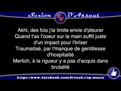 Clip video Sexion d'Assaut - à coeur ouvert (Paroles) HD 2012 (Lyrics) - Musique Gratuite Muzikoo