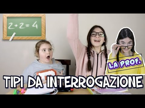 TIPI DA INTERROGAZIONE by Marghe Giulia Kawaii