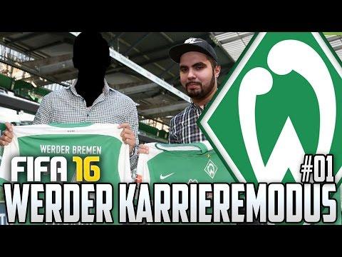 FIFA 16 KARRIEREMODUS #01 - TRANSFERS! WER KOMMT & WER GEHT? - FIFA 16 Karriere Werder Bremen
