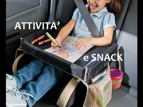 Viaggiare con i bambini – attività e snack