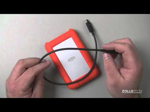 LaCie Thunderbolt Portable Rugged SSD - Quick Look