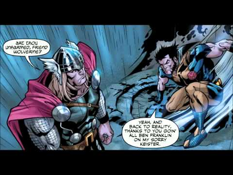 Thor vs Wolverine - Comic