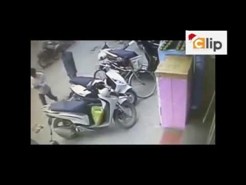 Tổng hợp những pha trộm xe máy chuyên nghiệp 2015