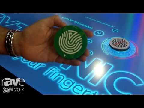 ISE 2017: Zytronic Demos Multi-touch Table