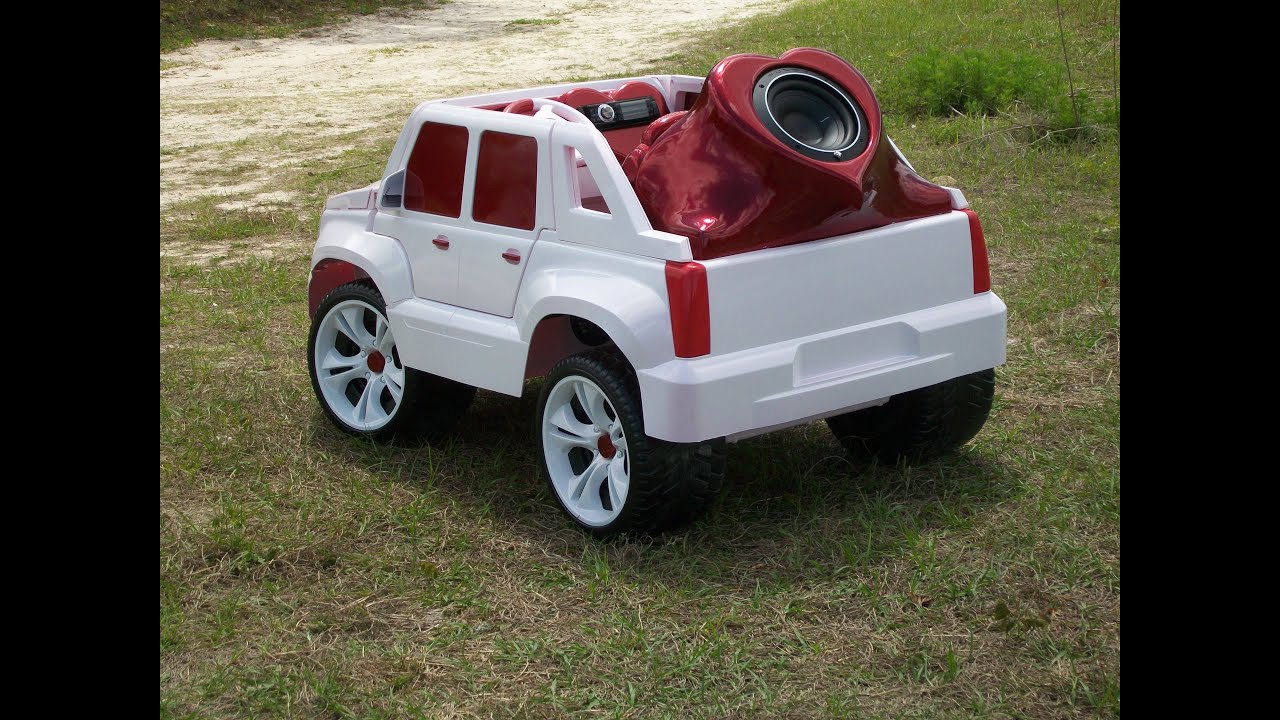 Modified Power Wheels Escalade Custom Built Heart Attack