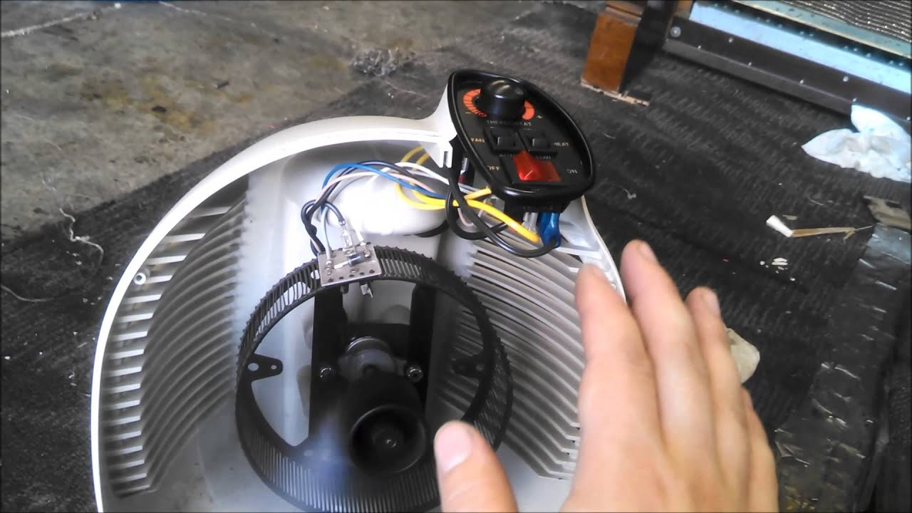 Repairing A Vornado Space Heater Youtube