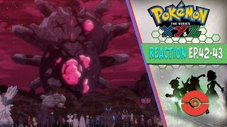 Pokemon XYZ Anime Reaction Ep.42-43 - The Team Flare Arc Climax!