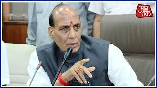 Rajnath Singh Chairs High Level Meet For Smooth running of Winter Session