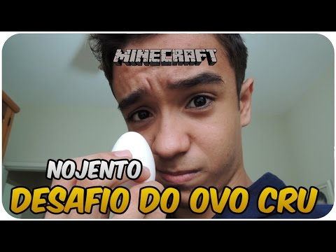 Desafio do OVO CRU no server de PVP!