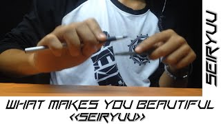 What Makes You Beautiful - One Direction - Pen Tapping by Seiryuu