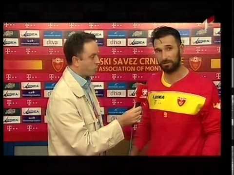 Mirko Vučinić poslije utakmice sa Moldavijom: