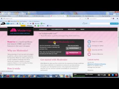 Create a webpage using HTML and CSS part 1