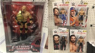 WWE TOY HUNT! NEW ENTRANCE GREATS GOLDBERG + TOP PICKS BASICS & MORE