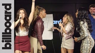 Fifth Harmony Pictionary Showdown: Lauren & Dinah vs. Normani & Ally | Billboard