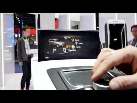 Audi Apple Car Play Hands On [4K]