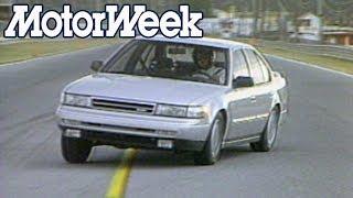 1989 Nissan Maxima   Retro Review