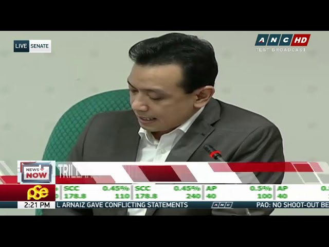 Trillanes signs waiver on alleged bank accounts, dares Duterte to do same