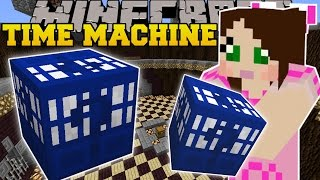 Minecraft: MOST INSANE LUCKY BLOCK EVER?!? (TIME MACHINE LUCKY BLOCK!) Mod Showcase