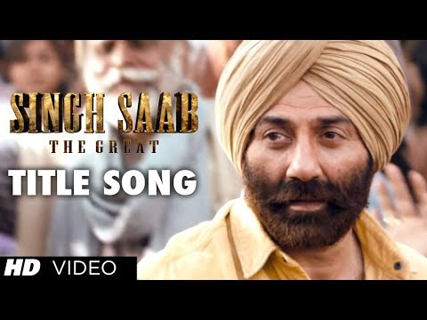 Singh Saab The Great Title Video Song | Sunny Deol | Latest Bollywood Movie 2013 video