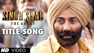 Singh Sahab The Great - Singh Saab the Great Title Video Song | Sunny Deol | Latest Bollywood Movie 2013