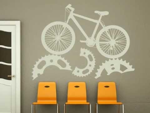 Vinilos y stickers decorativos para paredes youtube for Stickers vinilos decorativos