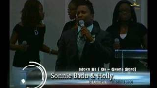 Holly and Sonnie Badu at Royalhouse MD Convention of Saints 2009