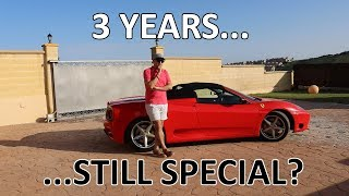 3 years with a Ferrari 360 - Is the magic still there? - Vlog 107
