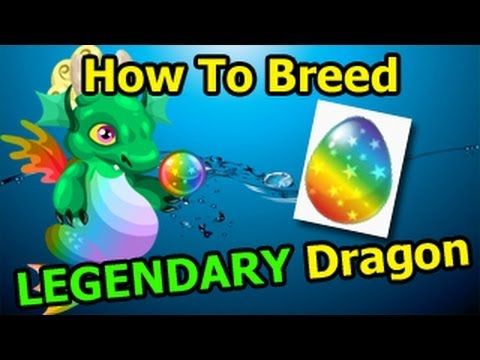LEGENDARY DRAGON Dragon City How To Breed It With 2 Rare Hybrid Dragons