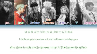 BTS (방탄소년단) - Butterfly (Color Coded Han|Rom|Eng Lyrics) | by Yankat