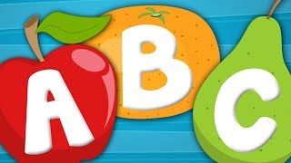 Fruits ABC Song | Alphabets Song | Fruits Songs For Kids | Nursery Rhymes