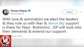 Janasena Party Chief Pawan Kalyan Slams AP Government in Twitter