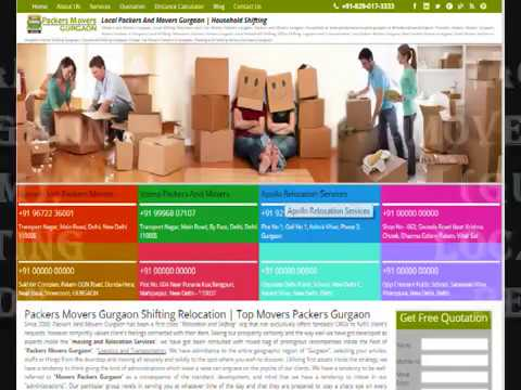Packers And Movers Gurgaon | Get Free Quotes | Compare and Save