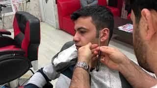 Asmr Turkish Massage(beard cut)(sheet washing)(Magic massage)(sakal traşı)