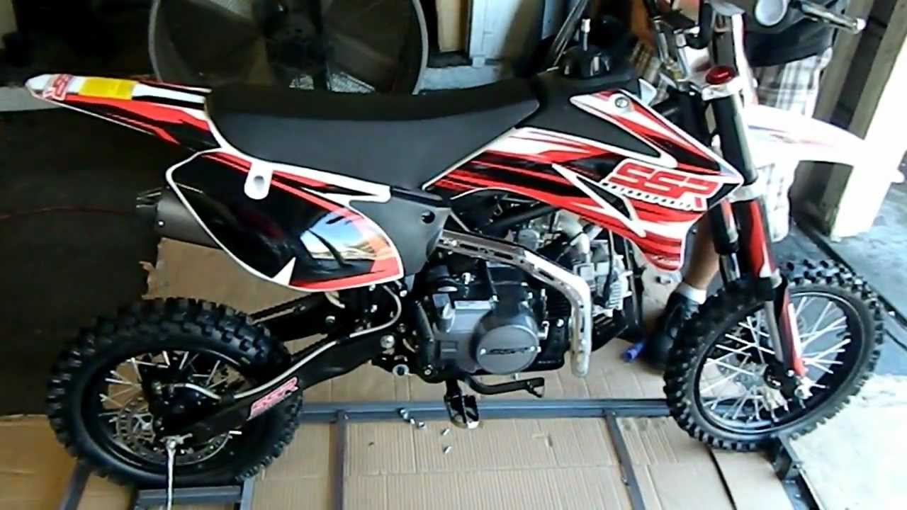 Ssr Pit Bikes Sr125tr Pit Bike Dirt Bike Assembly And