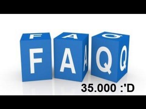 F.A.Q Spécial 35 000 Abonnés - Christodu69