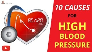 ► TOP 10 Causes Of High Blood Pressure - by Dr Sam Robbins
