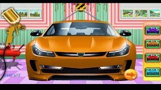 game lắp ráp xe ô tô hoạt hình/ cartoon car factory/ game world for kids