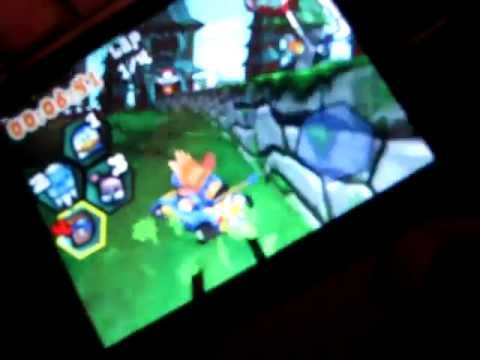 How to play Krazy Kart racing on galaxy y or any QVGA device (tutorial) free download