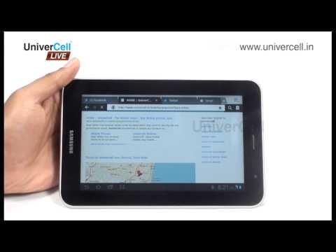 Samsung  P6200 Galaxy Tab 7.0 - UniverCell The Mobileexpert Reviews