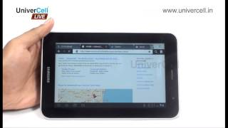 Samsung  P6200 Galaxy Tab 7.0 - UniverCell The Mobileexpert Reviews
