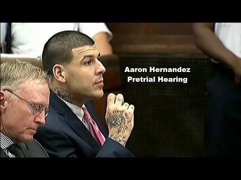 Aaron Hernandez Pretrial Hearing 10/13/15