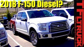 is this the 2018 ford f 150 diesel tow testing? spied in the wild