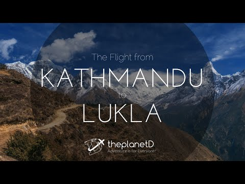 Mount Everest Flight, Kathmandu to Lukla Nepal