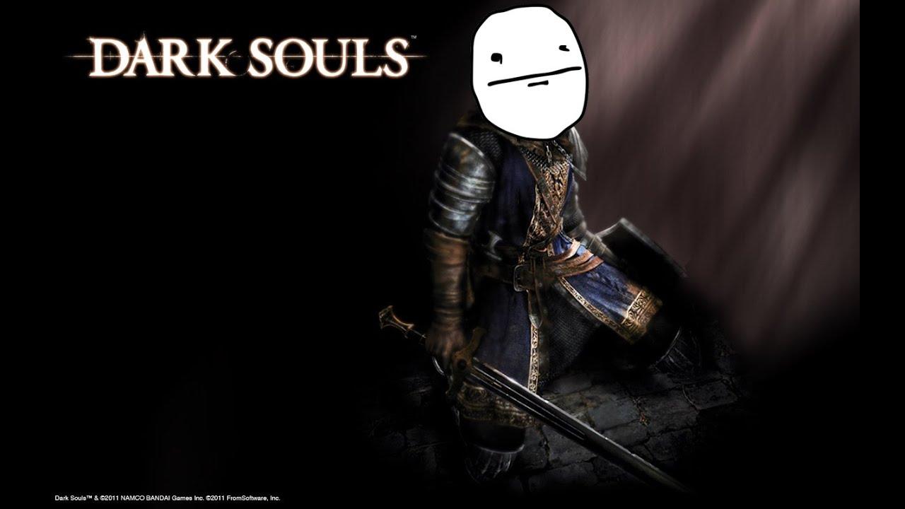 Dark souls boss fights in a nutshell youtube