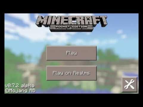 Spider Glowing Eyes! Minecraft Pocket Edition 0.7.3 Update Video