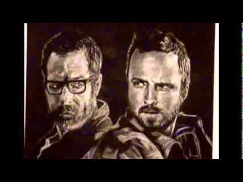 Walter White vs. Jesse Pinkman Series Finale (Time Lapse Drawing)