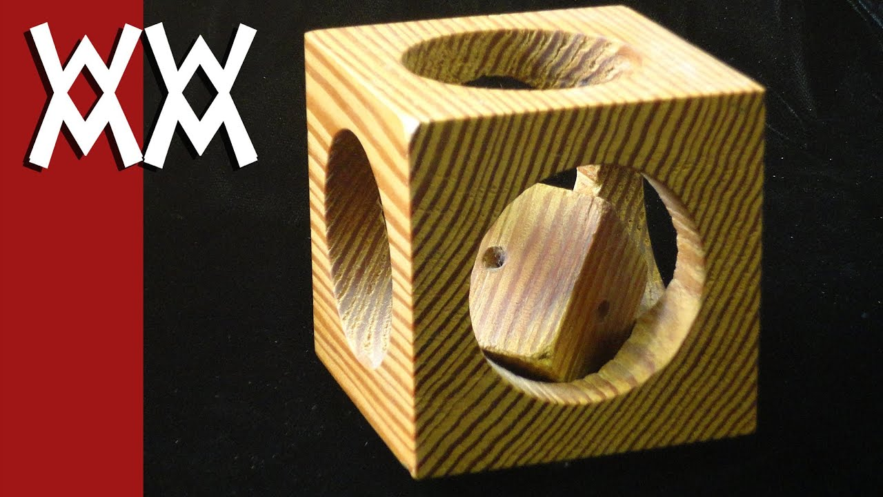 Machinist Puzzle Projects Puzzle Woodworking Project
